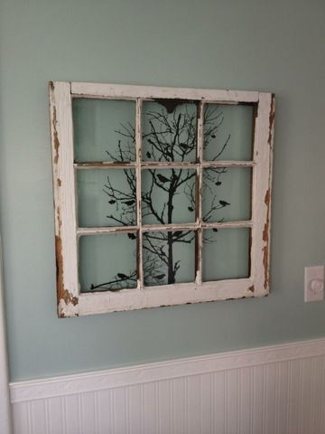Old Window Wall Art