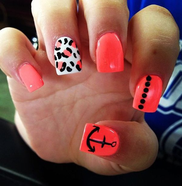 21 Wild Leopard Print Nail Designs for 2016 - Pretty Designs