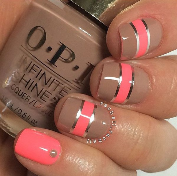 Metallic Nail Designs 2016