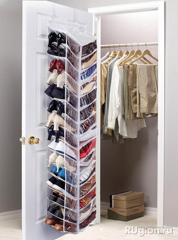Over the Door Shoe Storage Idea