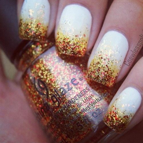 Pretty Fall Nails