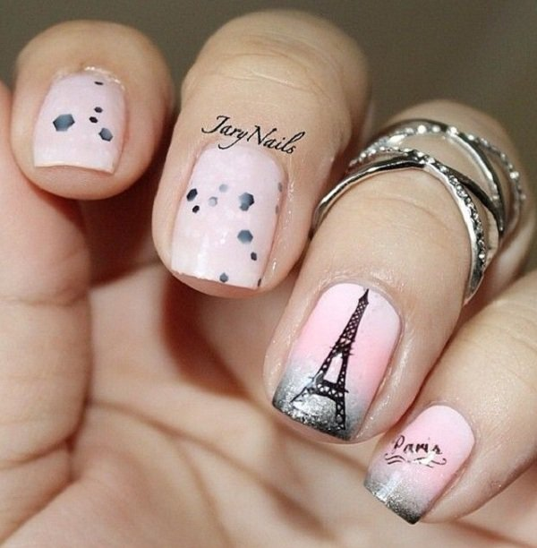 Romantic French Manicure Idea