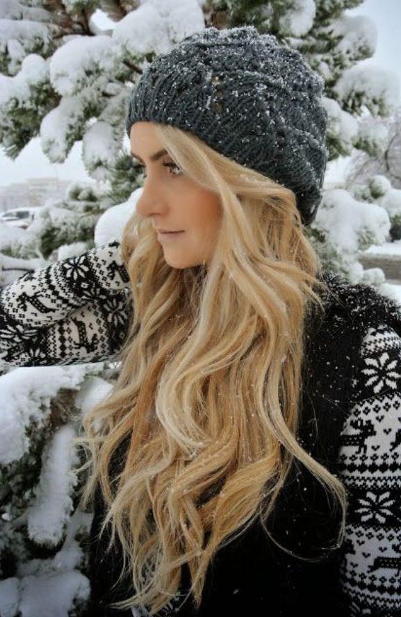 25 Winterhaar-Look, den Sie lieben müssen