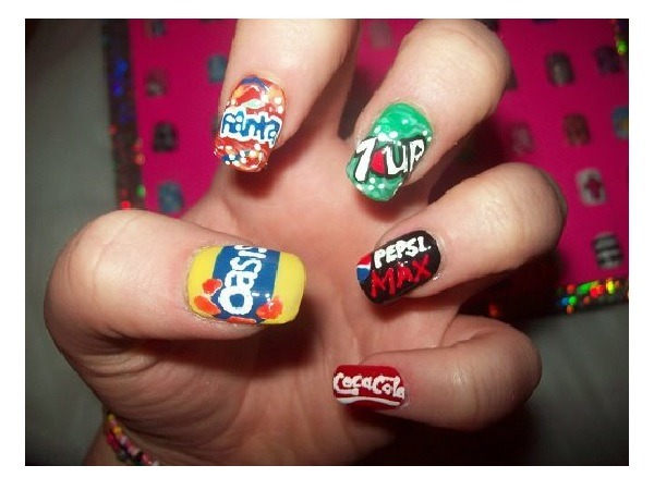 11 pretty coca cola nail designs pretty designs soda products nail design freerunsca