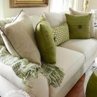 Spring-inspired Pillow
