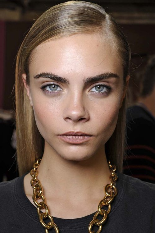 Strong brows