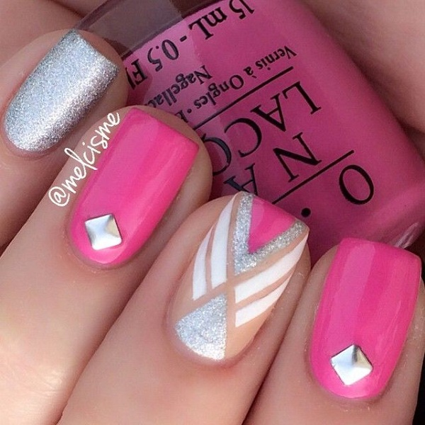 25 Cute Pink Nail Designs For 2016