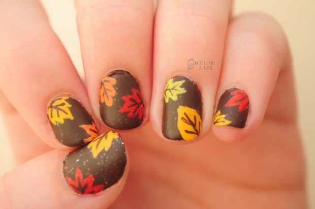 20 Impressive Thanksgiving Nail Designs Pretty Designs
