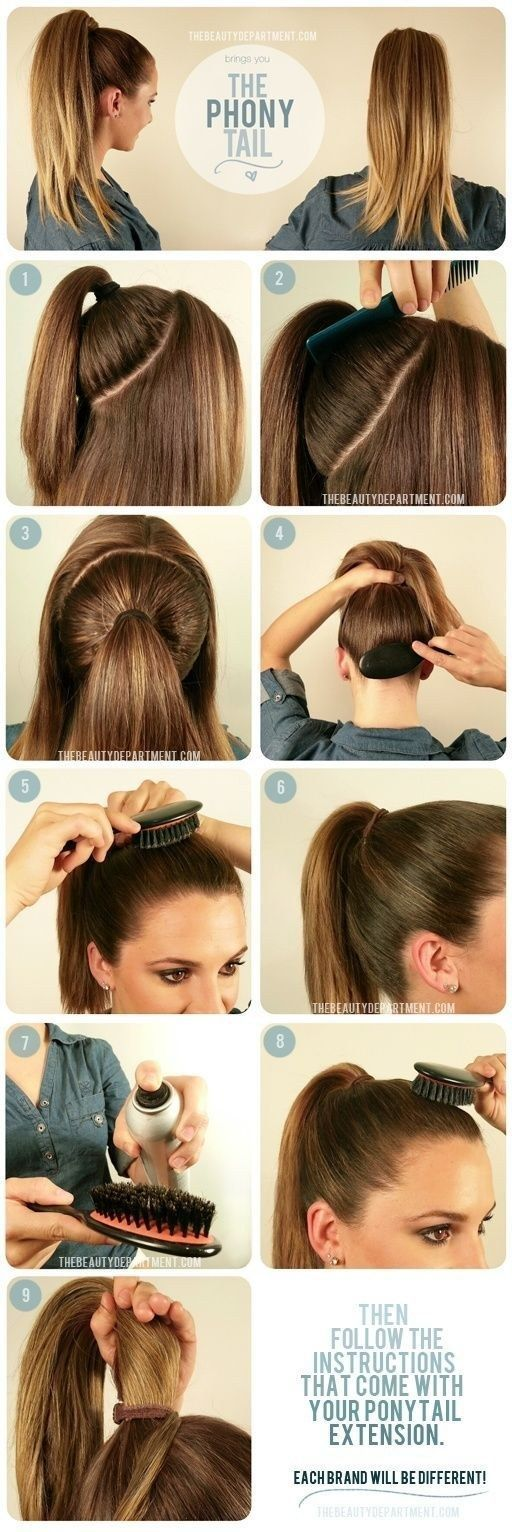 The Perfect Ponytail