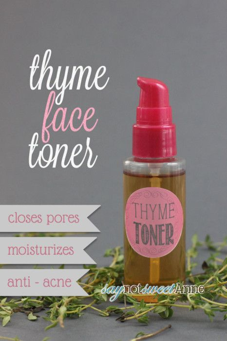 Thyme Face Toner