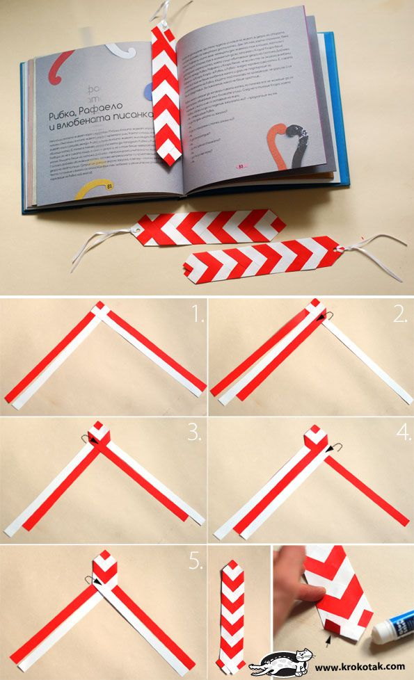Diy Bookmarks Part - 33: Tie Bookmark