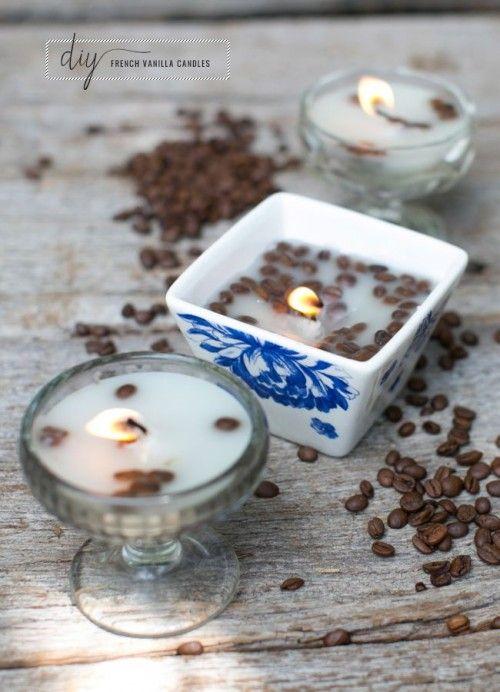Vanilla and Coffee Candle