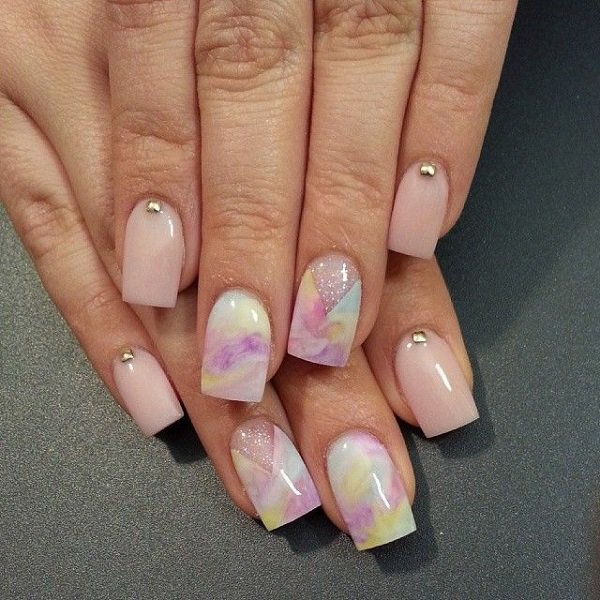 25 Remarkable Watercolor Nail Designs Pretty Designs