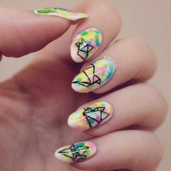Watercolor Nail Art ~ the best inspiration for design and color of ...