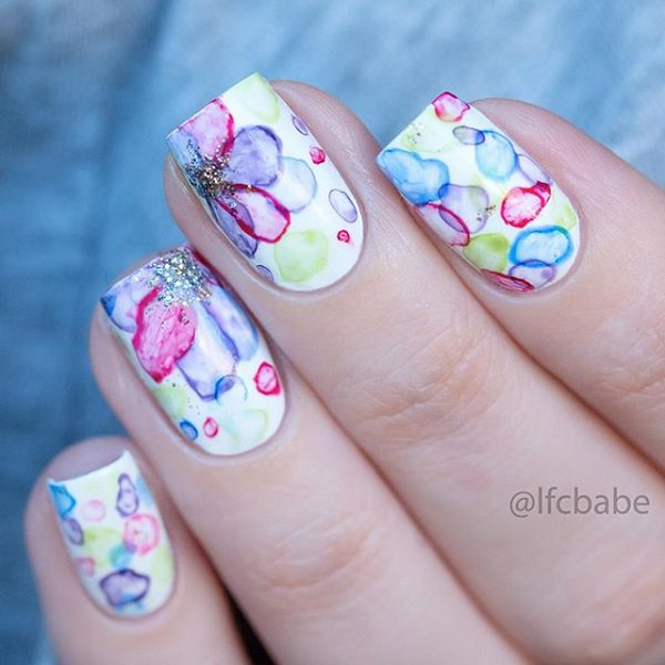 25 Remarkable Watercolor Nail Designs for 2016 | Pretty Designs