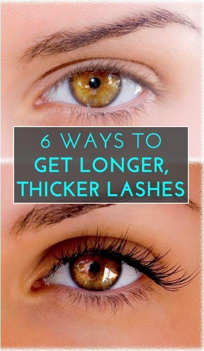 Ways to Make Eyelashes Longer