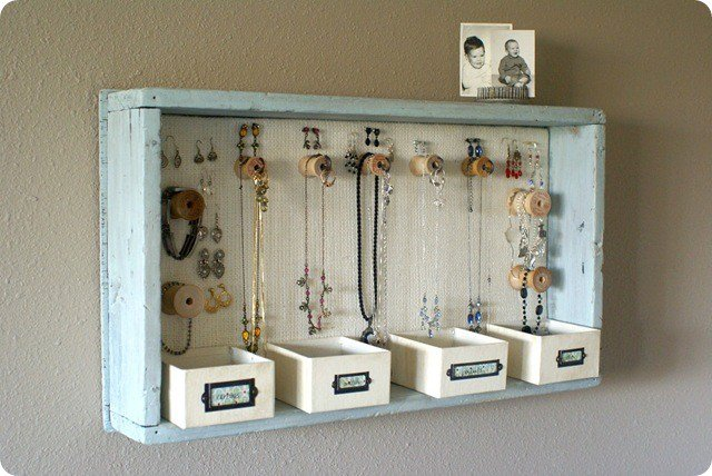 Wooden Cabinet for Jewelry