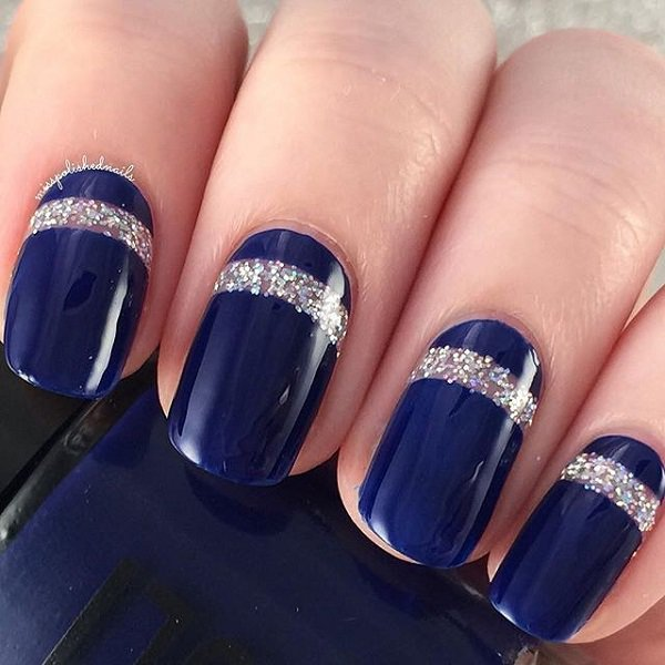 29 Adorable Blue Nail Designs voor 2019