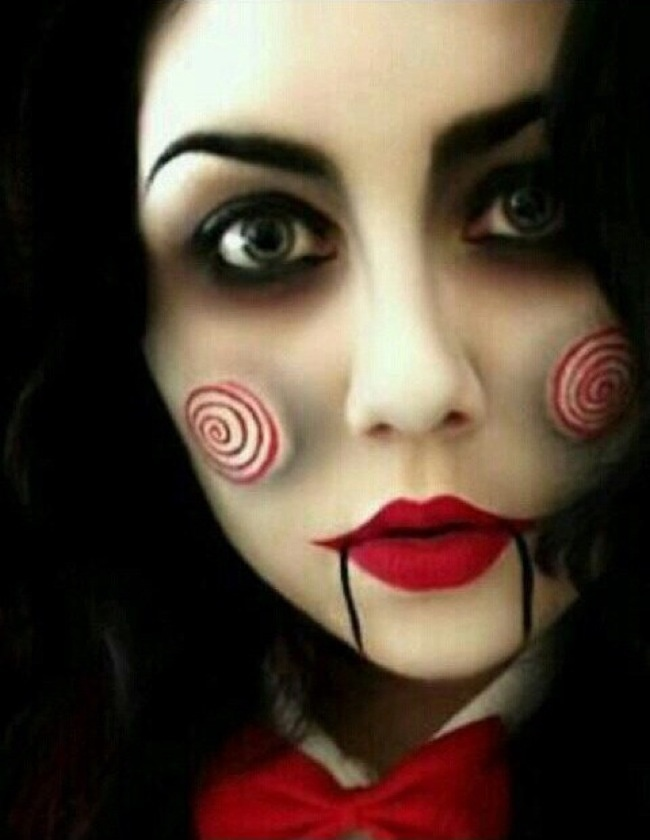 Scary Makeup Ideas Halloween Pretty Designs