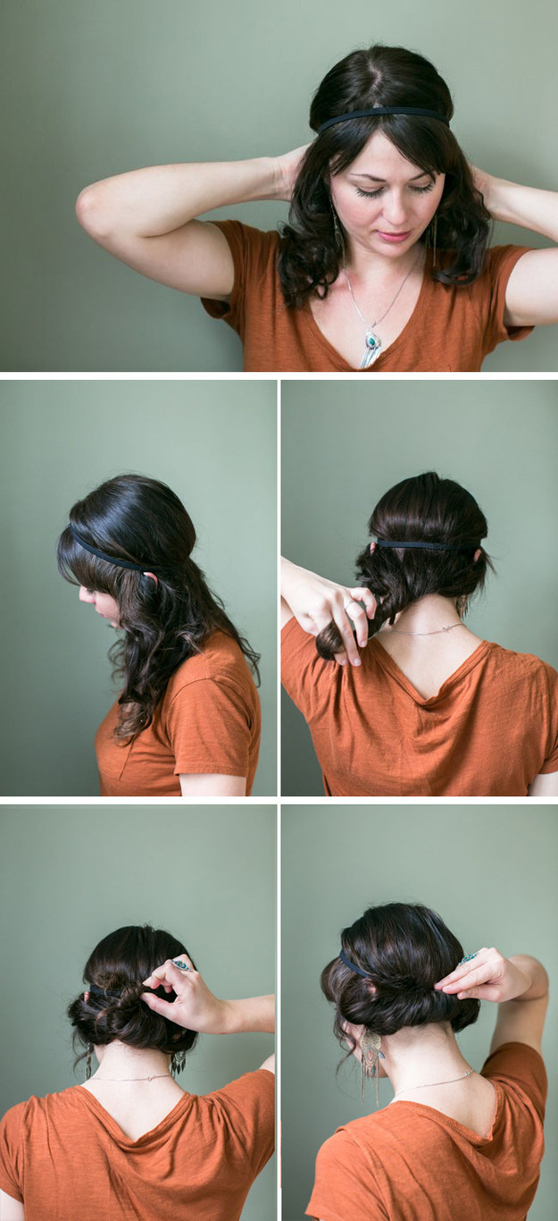 5 Minute Updo