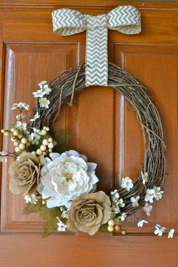 25 Diy Ideas To Have A Winter Wreath Pretty Designs