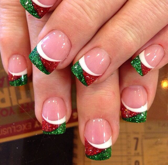 25 Holiday Inspired Nails Pretty Designs