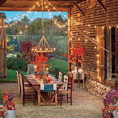 Backyard Dining Table