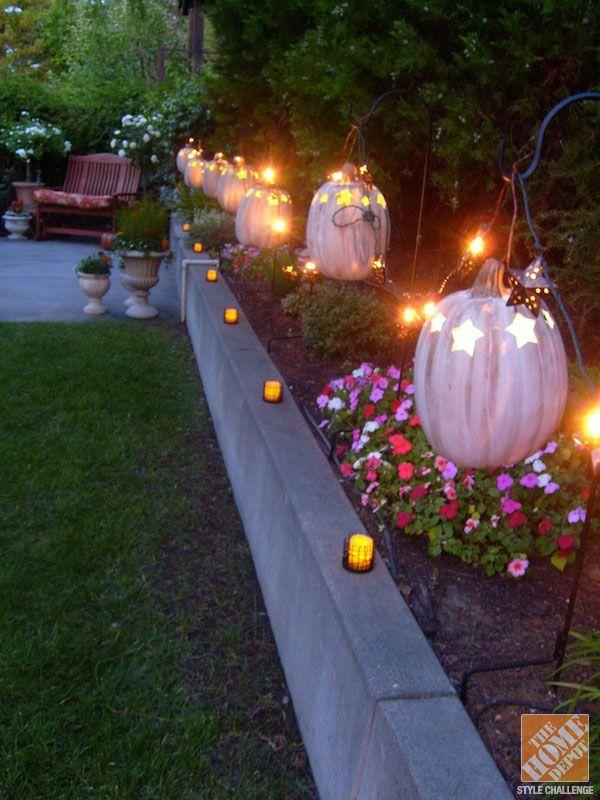 Backyard for Halloween