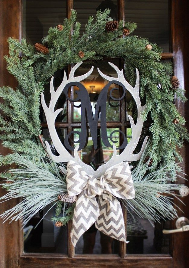 Beautiful Door Wreath