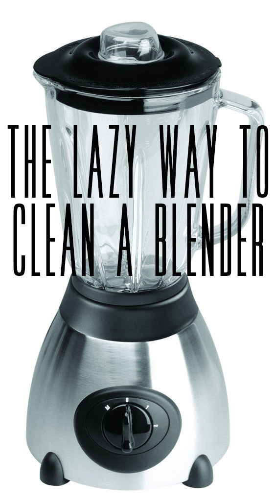 Blender Cleaning Idea