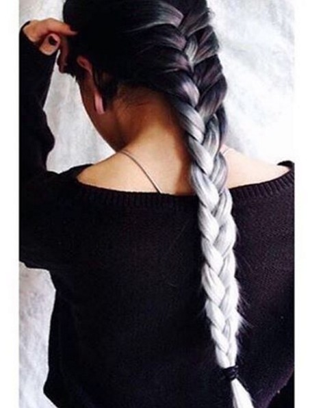 Braided Ombre Hairstyle