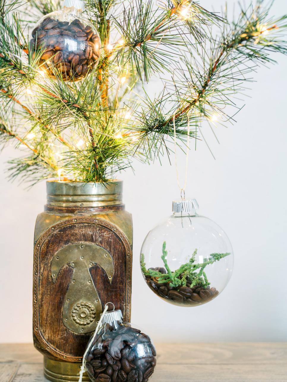 Coffee Bean Ornaments