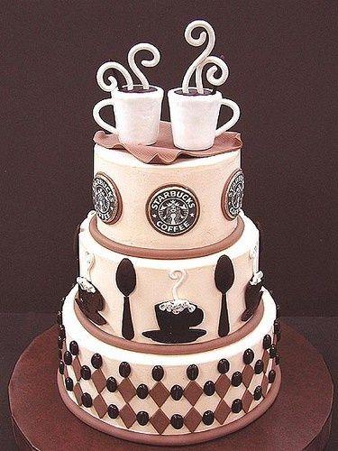 Coffee Inspired Cake