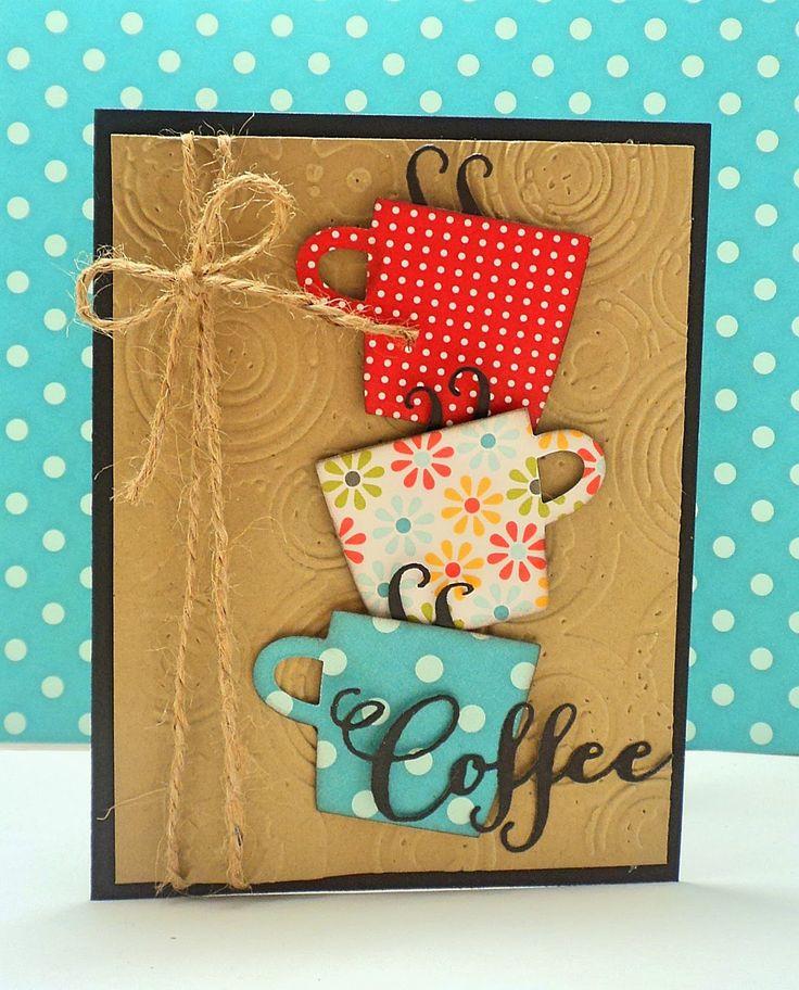 Coffee Inspired Card