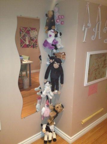 DIY Stuffed Animal Holder