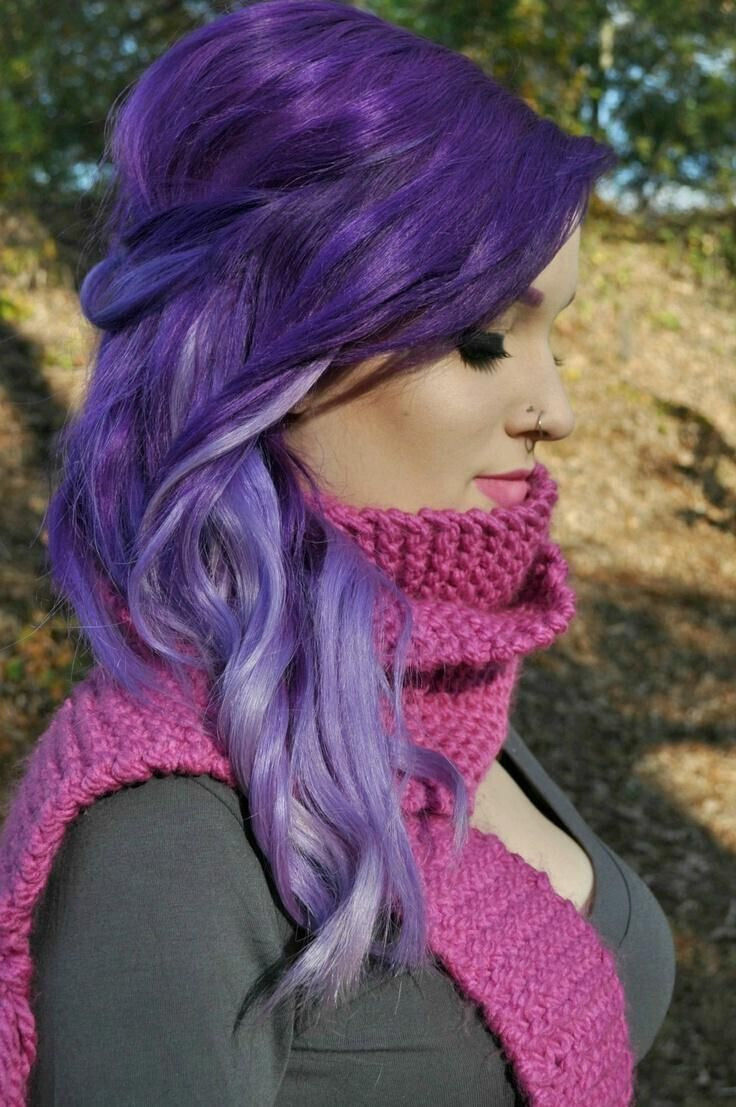 20 Romantic Purple Hairstyles for 2016 - Pretty Designs