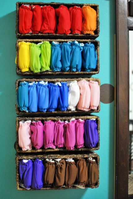 Diaper Storage for Your Baby