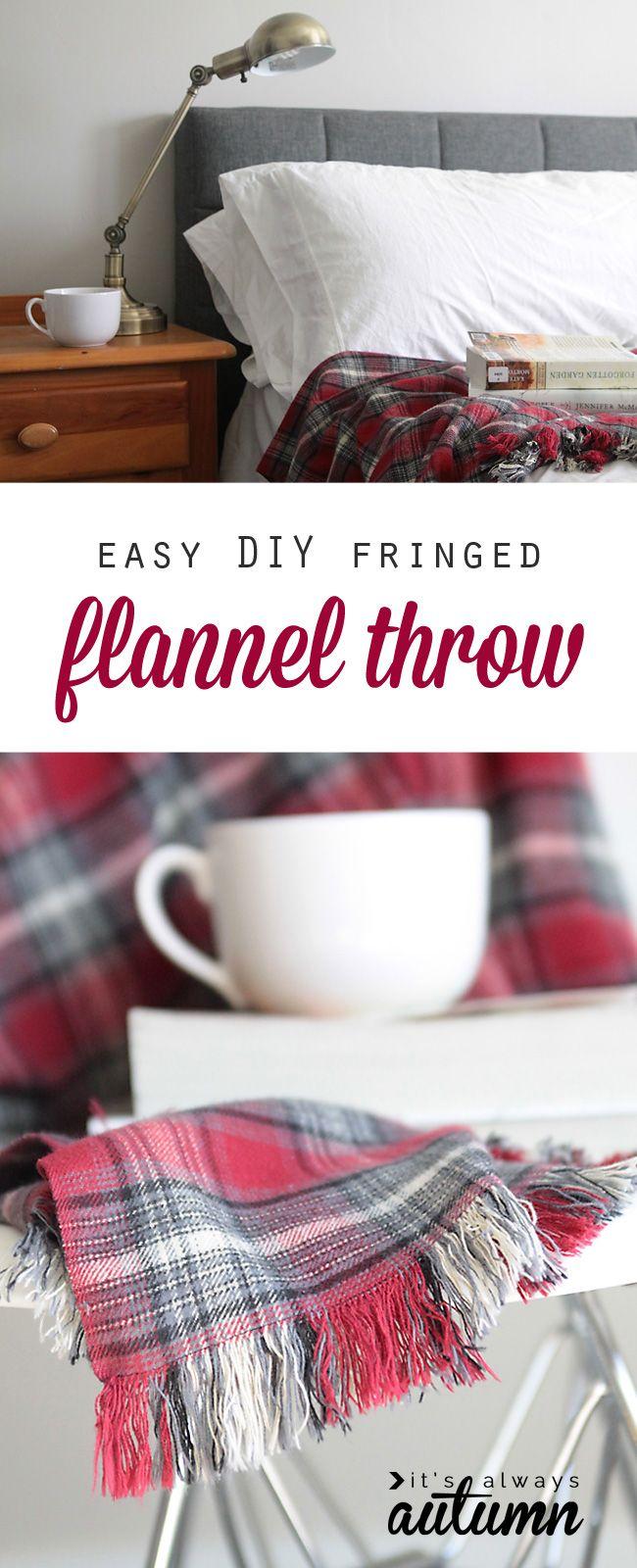 Easy DIY Fringed Gift