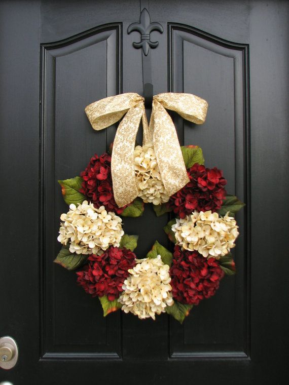 25 DIY Ideas to Have a Winter Wreath - Pretty Designs