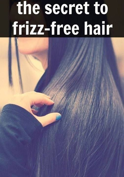 Frizz-free Hair