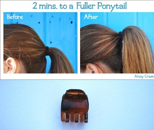 Fuller Ponytail