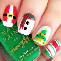 Funny Christmas Nails