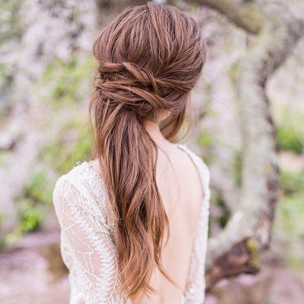 Astounding 23 Latest Half Up Half Down Hairstyle Trends For 2016 Pretty Designs Hairstyles For Women Draintrainus