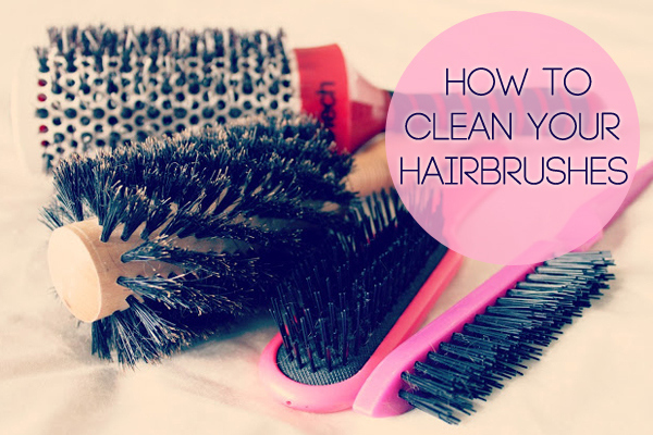 How to Clean the Hairbrushes