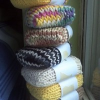 Knitted Soap Socks