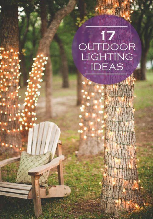Lighting Ideas for Backyard