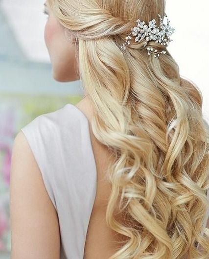 Long Hair Wedding Hairstyles Down: 16 Super Charming Wedding Hairstyles For 2019