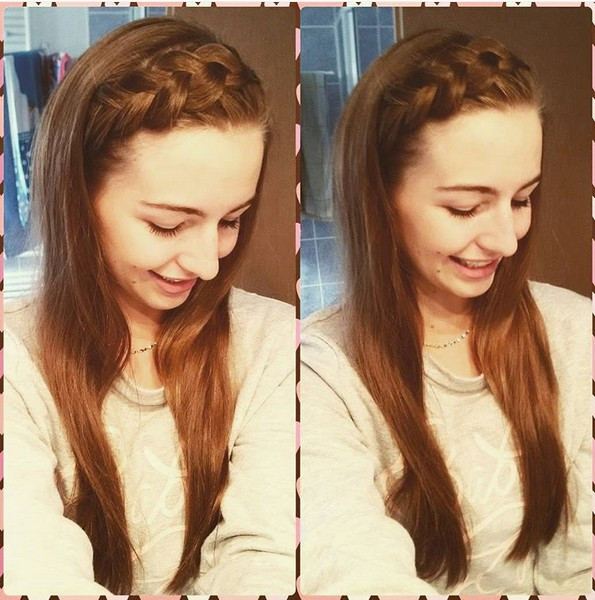 Surprising 20 Easy And Chic Hairstyles For School Girls Pretty Designs Hairstyles For Women Draintrainus