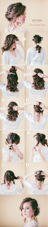 15 Hair Tutorials, um Ihr Haar zu stylen