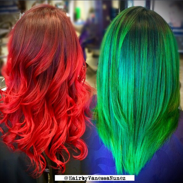Medium Colored Hairstyles